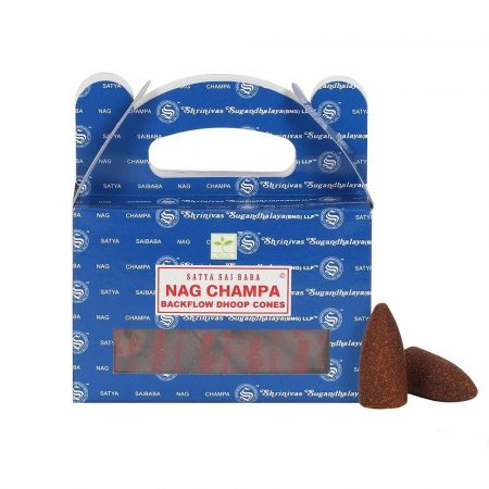 Satya Backflow-Nag Champa-Kúpfüstölő (folyékony füst)