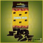 Kúpfüstölő elefántos Szantál / Tulasi Elefántos Szantál Füstölő Kúp