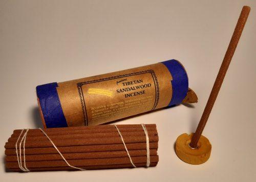Ősi Tibeti Sandalwood-Szantálfa füstölő