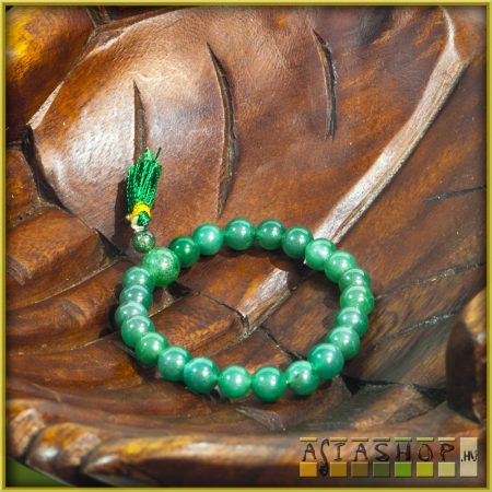 féldrágakő karmala - zöld achát