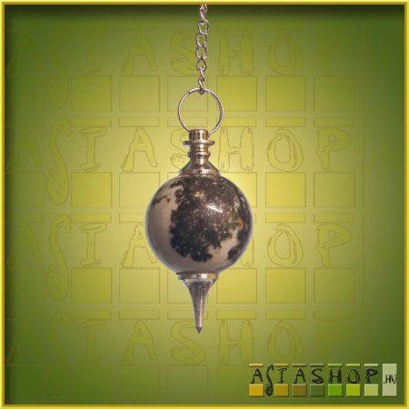 ásvány inga - Merlinit - gömb csiszolású
