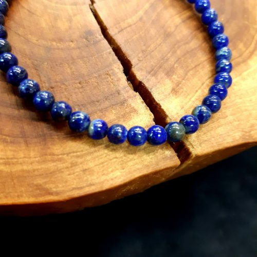 Lapis Lazuli karkötő-4 mm golyó