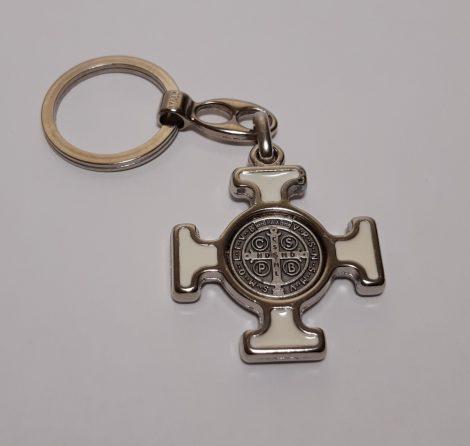 Szent Benedek kulcstartó kereszttel