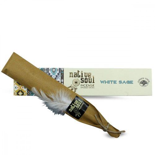 Green Tree-Native Soul- White Sage-Fehér Zsálya  Masala Füstölő