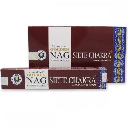 Golden 7 Chakra-7 csakra  masala füstölő