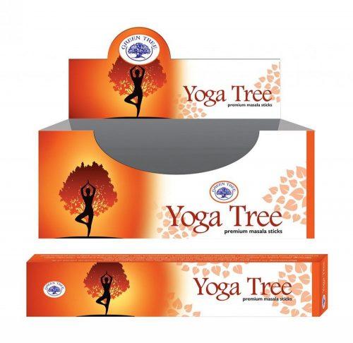 Green Tree-Yoga Tree-Jóga Fa Masala Füstölő