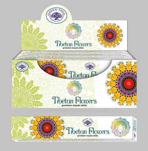 Green Tree-Tibetan Flowers-Tibeti Virágok Masala Füstölő