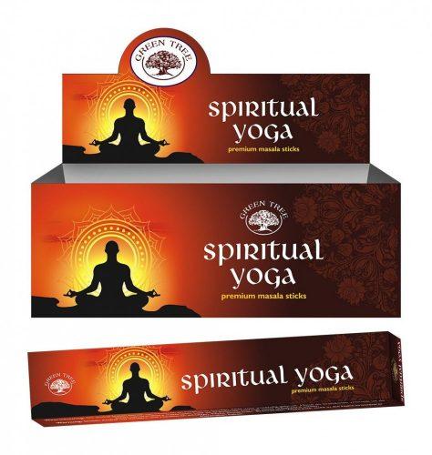 Green Tree-Spiritual Yoga-Szellemi Jóga Masala Füstölő