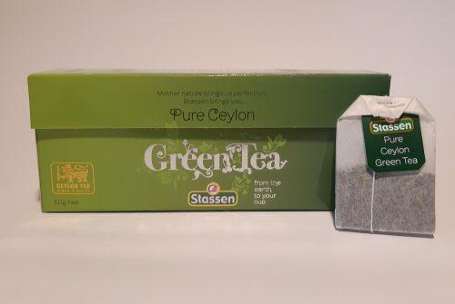 Stassen Green tea-Zöld Tea filteres