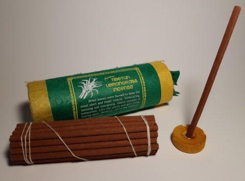Ősi Tibeti Lemongrass-Citromfű füstölő