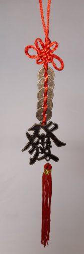 Feng Shui Szerencsehozó 5 pénzes pénzfüzér