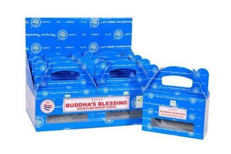 Satya Backflow-Buddha Blessing-Kúpfüstölő (folyékony füst)