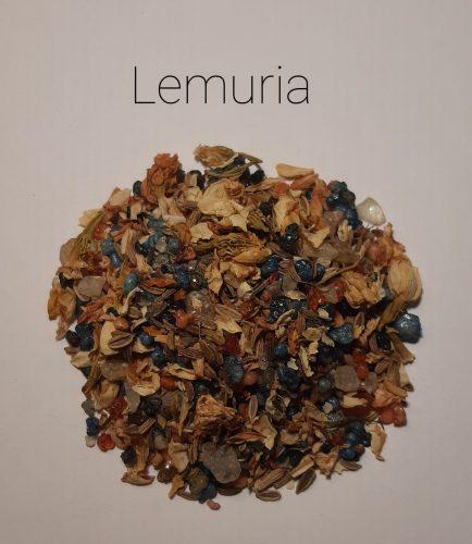 Lemuria-Gyógynövényes Gyantakeverék
