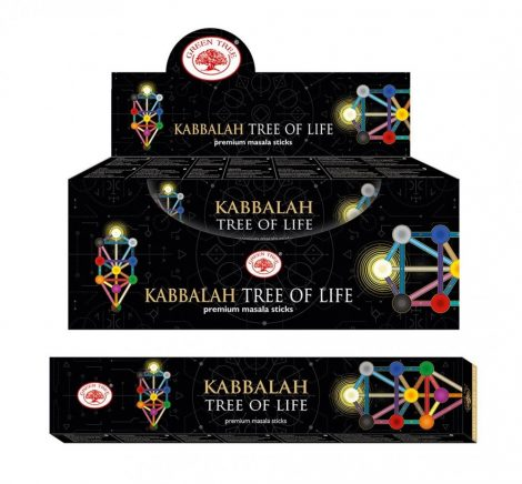 Green Tree-Kabbalah Tree Of Life-Kabbala Életfa Masala Füstölő