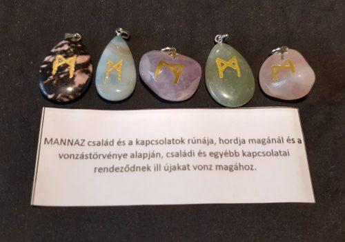 MANNAZ-Rúna medál