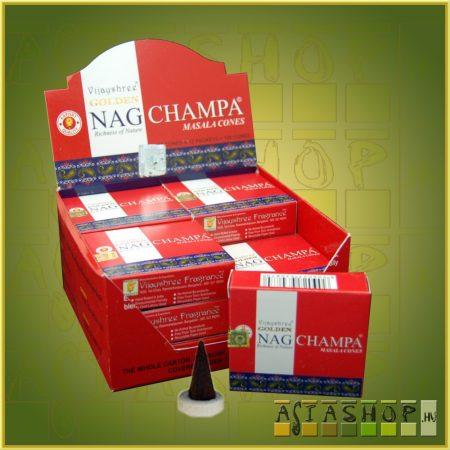 Golden Nag Champa / Nag Champa Maszala Kúpüstölő