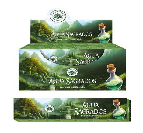 Green Tree-Aqua Sagrados-Élet Víze Masala Füstölő