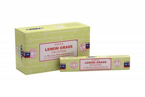Satya Lemongrass/Citromfű-Indiai Masala Füstölő