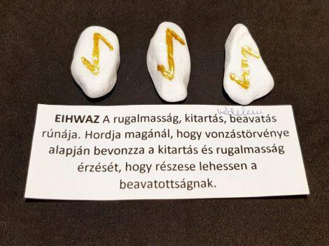 EIHWAZ-Rúna talizmán-görög márvány