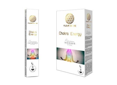 Fleur de Vie Chakra Energy Premium-Csakra Energia Füstölők