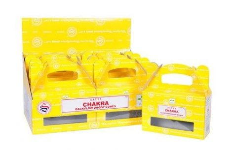 Satya Backflow-Chakra-Kúpfüstölő
