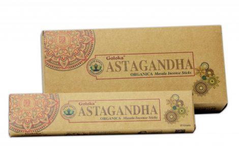 Goloka Astagandha-Organikus sorozat  Masala Füstölő