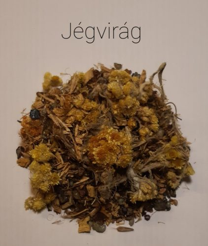 Jégvirág-Gyógynövényes Gyantakeverék