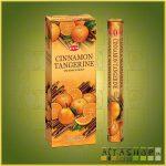 HEM Cinnamon Tangerine/HEM Fahéj Mandarin illatú indiai füstölő