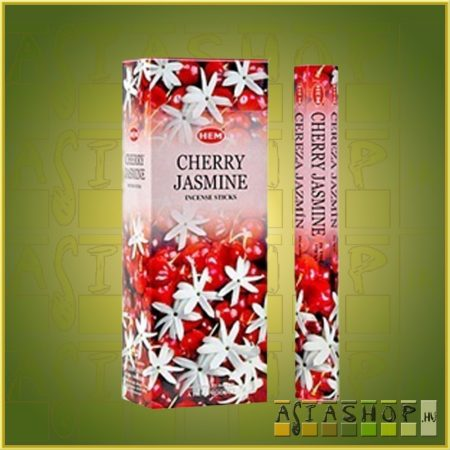 HEM Cherry Jasmine/HEM Cseresznye Jázmin illatú indiai füstölő