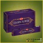 HEM Champa Flower/HEM Csampavirág illatú indiai maszala füstölő