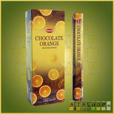 HEM Chocolate Orange/HEM Csokoládé Narancs illatú indiai füstölő