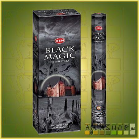 HEM Black Magic/HEM Fekete Mágia indiai füstölő