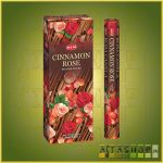 HEM Cinnamon Rose/HEM Fahéj Rózsa illatú indiai füstölő