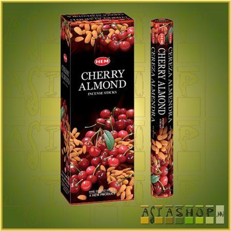 HEM Cherry Almond/HEM Cseresznye Mandula illatú indiai füstölő