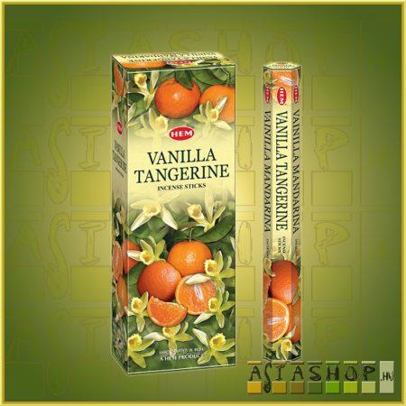 HEM Vanilla Tangerine/HEM Vanília Mandarin illatú indiai füstölő