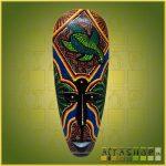 Maszk Aboriginal Széles X