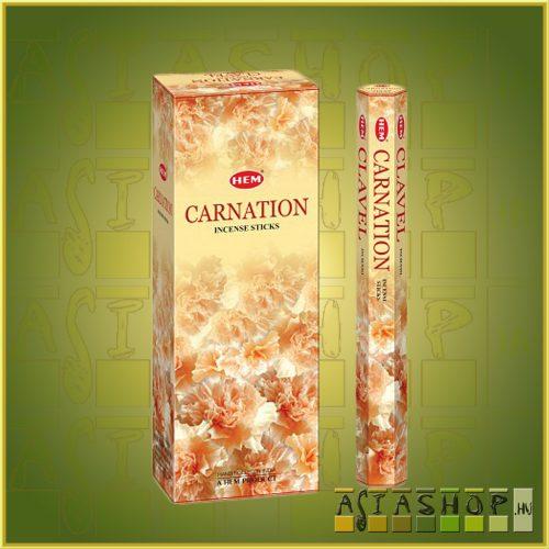 HEM Carnation/HEM Szegfű illatú indiai füstölő