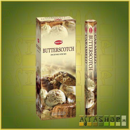 HEM Butterscotch/HEM Tejkaramella  illatú indiai füstölő