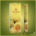 HEM Tea Rose/HEM Tearózsa  illatú indiai füstölő