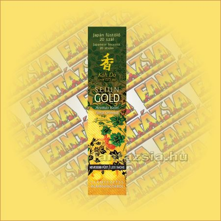 Aromás Kelet (Seiun Gold) illatú Japán füstölő/Nippon Kodo-Koh Do Japán füstölő