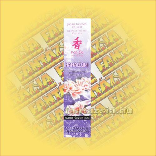 Briliáns Rózsa (Hanaizumi) illatú Japán füstölő/Nippon Kodo-Koh Do Japán füstölő