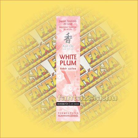 Fehér Szilva (White Plum) illatú Japán füstölő/Nippon Kodo-Koh Do Japán füstölő