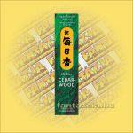 Cédrus (Cedarwood) illatú Japán füstölő/Nippon Kodo-Morning Star Japán füstölő