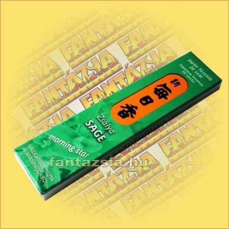 Zsálya (Sage) illatú Japán füstölő/Nippon Kodo-Morning Star Japán füstölő