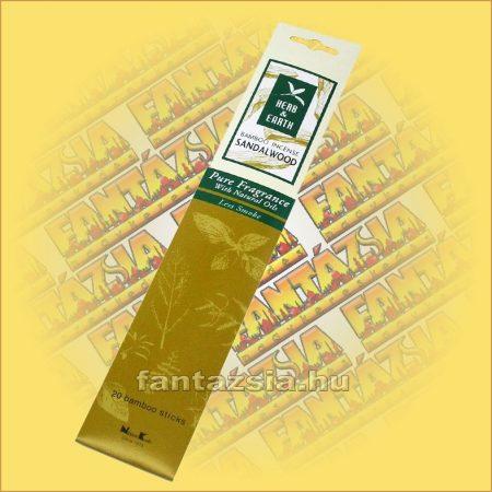 Szantálfa illatú Japán füstölő/Nippon Kodo-Herb and Earth