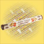 Tulasi Ámbra és Szantál illatú füstölő / Tulasi Amber Sandal