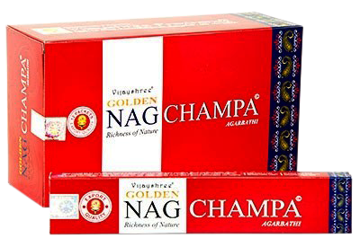 Golden Nag Champa AsiaShop